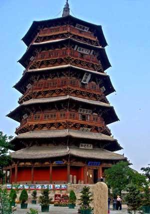 应县木塔——现存唯一木结构的楼阁式宝塔