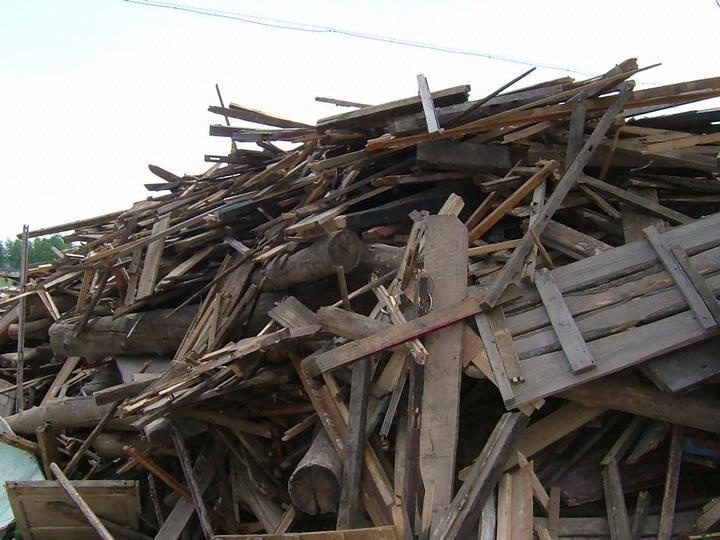 废旧木材交易市场已经