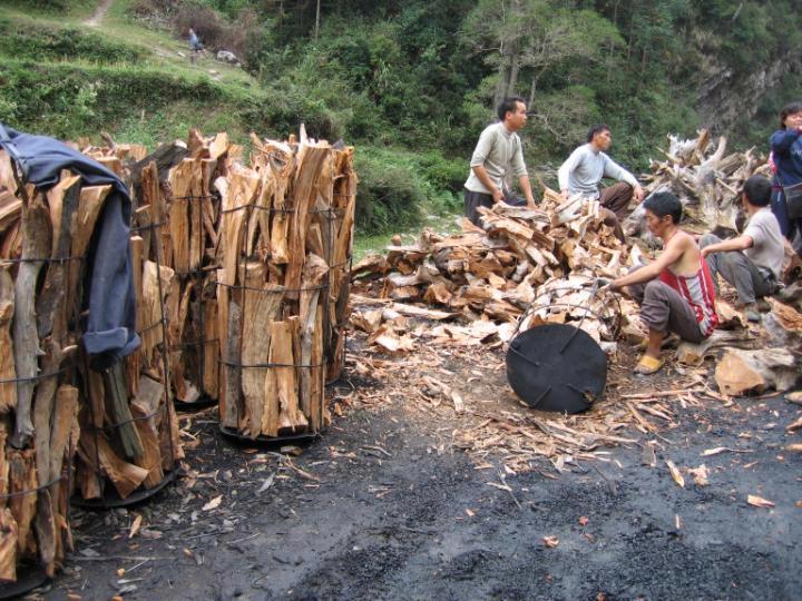 贵州苗族风情与木文化
