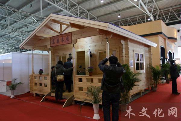 """木结构展览会""""于2011年3月1日至4日在全国农业展览馆"""