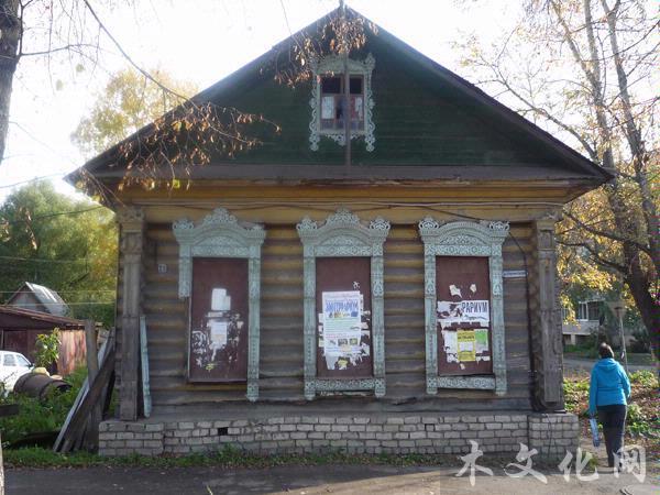 俄罗斯古镇木结构建筑——罗斯托夫韦里奇镇
