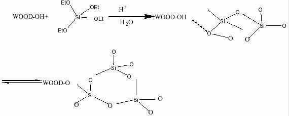 超临界干燥制备木材-sio2气凝胶复合材料及其纳米结构