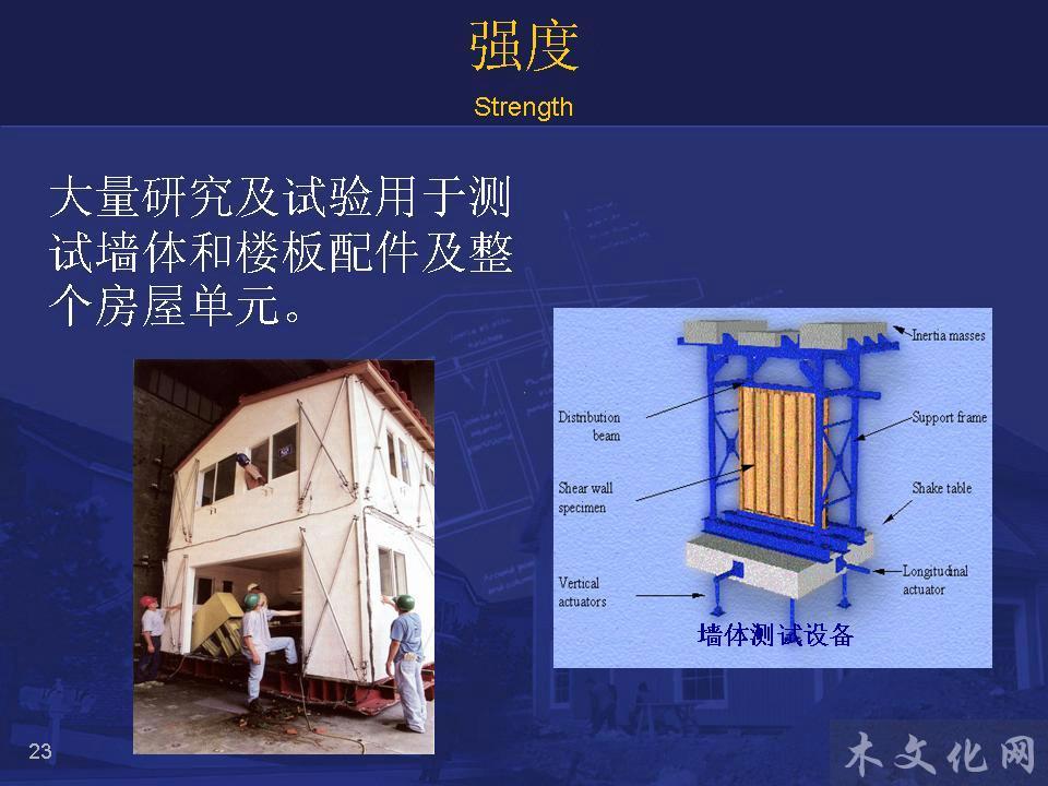 关于木框架结构实施的介绍