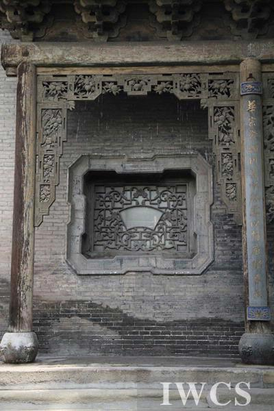 这是中国古代传统木结构