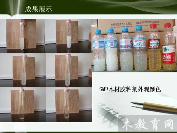 蔗糖-三聚氰胺-甲醛共缩聚树脂木材胶粘剂的研究