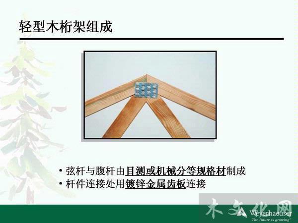 绿色建筑与新型结构——加拿大木桁架及混合建筑研讨会  > 木桁架屋顶