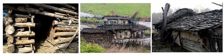 黎族的船型屋   黎族船型屋是黎族民居建筑的一种