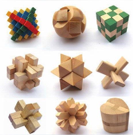 智力木玩——孔明锁