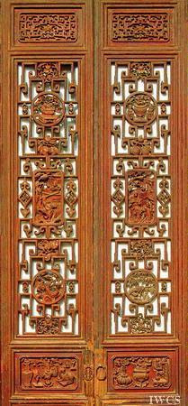 中国古代建筑的木门文化 - 云南木文化