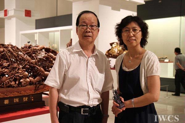 蕴含地方特色的潮州木雕--访广东省工艺美术大师杨坚平