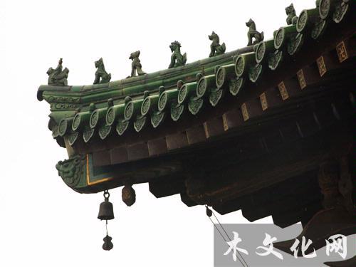 西安钟楼斗拱结构图