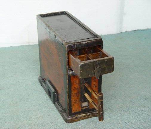 老式大木头箱子改造