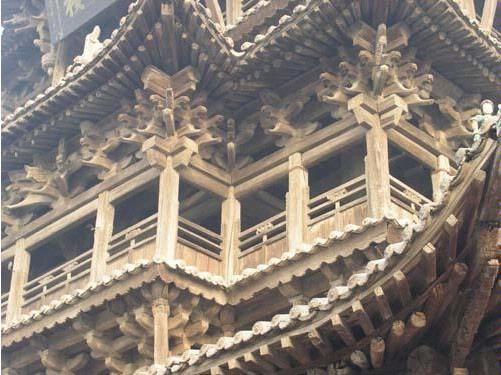 木结构建筑中罕见的珍品——飞云楼