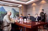 国际木文化学会副会长赵广杰一行赴牡丹江考察